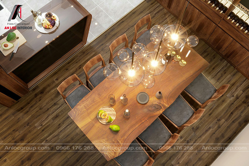 Thiết kế nội thất chung cư ngoại giao đoàn 90m2